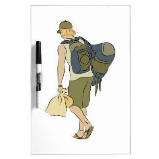 Backpack Traveler Dry Erase Board