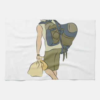 Backpack Traveler Kitchen Towel