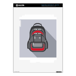 Backpack vector decals for iPad 3