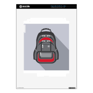 Backpack vector skin for the iPad 2