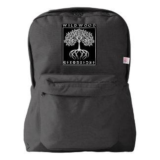 Backpack Wildwood Blk | Heartblaze