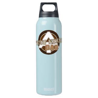 Backpacker, hiker insulated water bottle