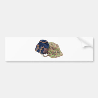 BackpackHat062509 Bumper Sticker