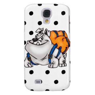 Backpacking Cartoon Dog Galaxy S4 Covers