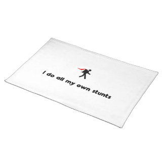 Backpacking Hero Cloth Placemat