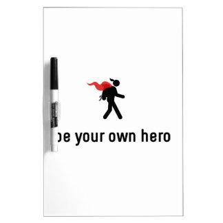 Backpacking Hero Dry Erase Board