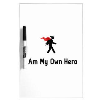 Backpacking Hero Dry-Erase Board