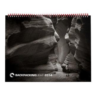 Backpacking Light 2014 Calendar
