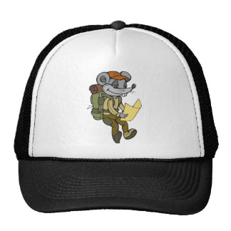 Backpacking Mouse Hats