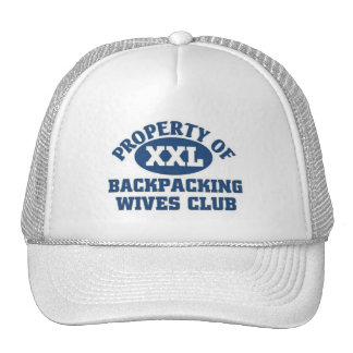 Backpacking wives Club Trucker Hats