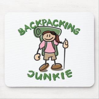 BackPackJunkie Girl Mouse Pad