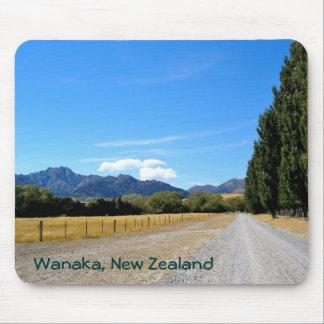 Backroad in Wanaka, New Zealand Mouse Pad