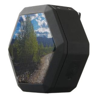 Backroad to Bowman lake Glacier National Park Black Bluetooth Speaker