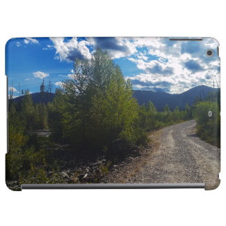 Backroad to Bowman lake Glacier National Park Case For iPad Air