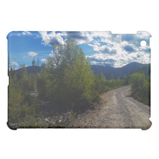 Backroad to Bowman lake Glacier National Park Cover For The iPad Mini