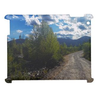 Backroad to Bowman lake Glacier National Park iPad Cases