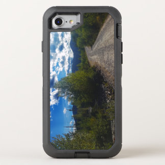 Backroad to Bowman lake Glacier National Park OtterBox Defender iPhone 7 Case