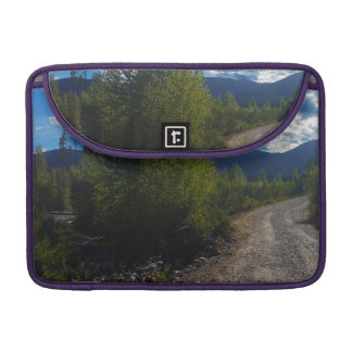 Backroad to Bowman lake Glacier National Park Sleeve For MacBook Pro
