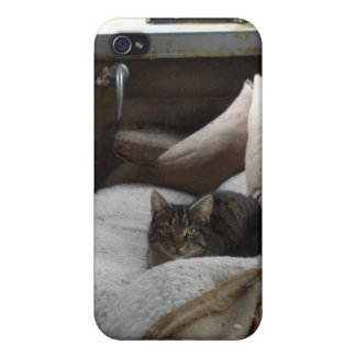 Backseat by Uncle Junk iPhone 4/4S Cases