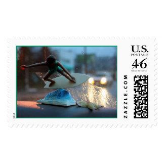 backseat ridin' postage