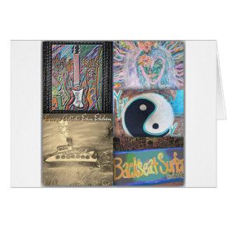 Backseat Surfers Art Cards