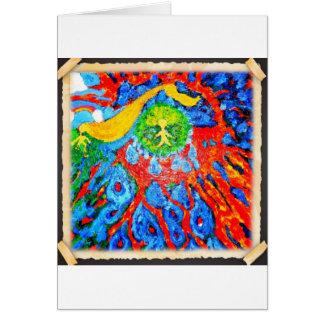 Backseat Surfers Art Greeting Card