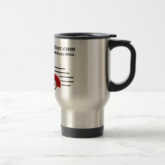 BackseatBarber.com Travel Mug