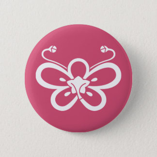 Backside-view shadowed butterfly-shaped ume button