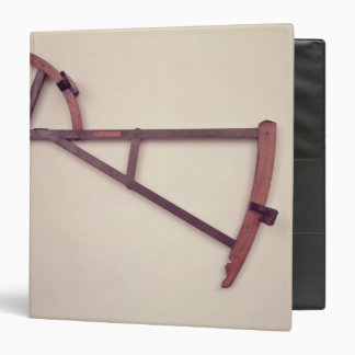 "Backstaff, siglo XVIII Carpeta 1 1/2"""