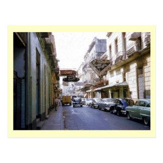 Backstreet Bars of Havana, Cuba Vintage Postcard