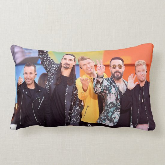 Backstreet Boys   ABC's Good Morning America Lumbar Pillow