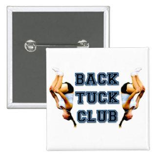 Backtuck club pins
