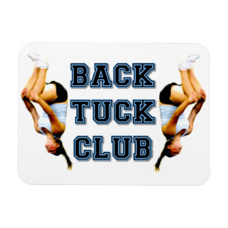 Backtuck club magnet
