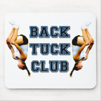 Backtuck club mouse pad