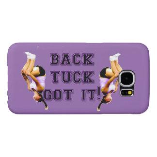 Backtuck got it gymnastics samsung galaxy s6 cases