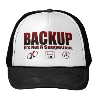 Backup! Trucker Hat