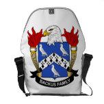 Backus Family Crest Messenger Bag