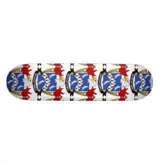 Backus Family Crest Skateboard Deck