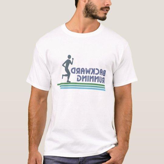 Backward Running 3 T-shirt