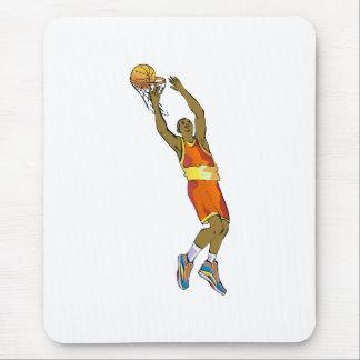 backwards dunk mouse pad