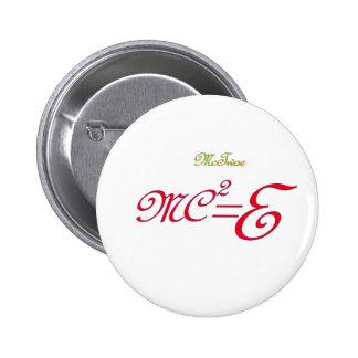 Backwards Physics Pinback Buttons