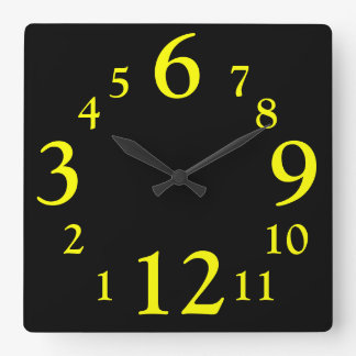 Backwards Wall Time Clocks