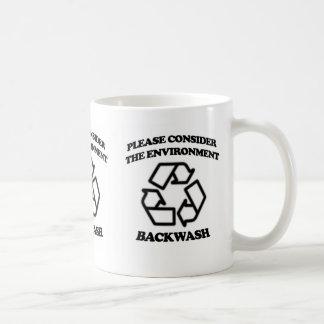 Backwash Recycling Coffee Mug