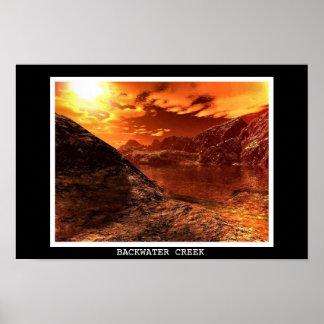 Backwater Creek Poster