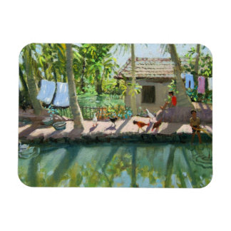 Backwaters India Magnet