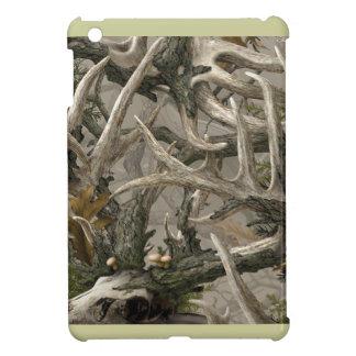 Backwoods deer skull camo iPad mini covers