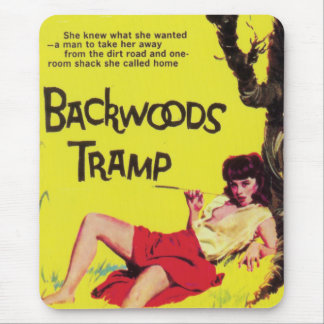 Backwoods Tramp Mouse Pad