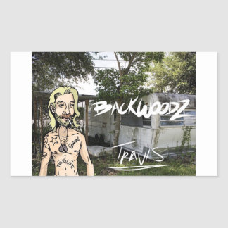 Backwoodz Rectangular Sticker