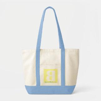 Backword Books pocket tote, spring Bags