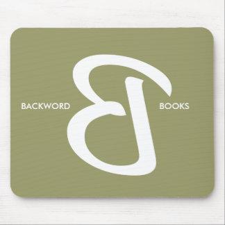 Backword Mousepad elegante Tapete De Ratones